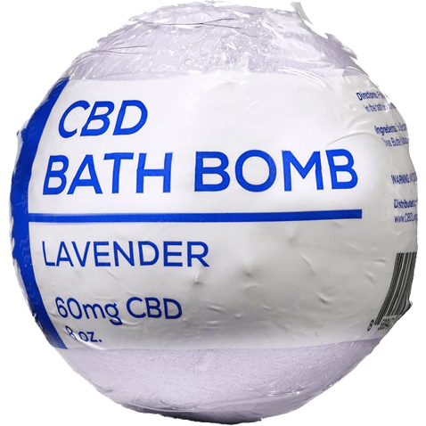 CBD_Living_Bath_Bomb_Lavender_side